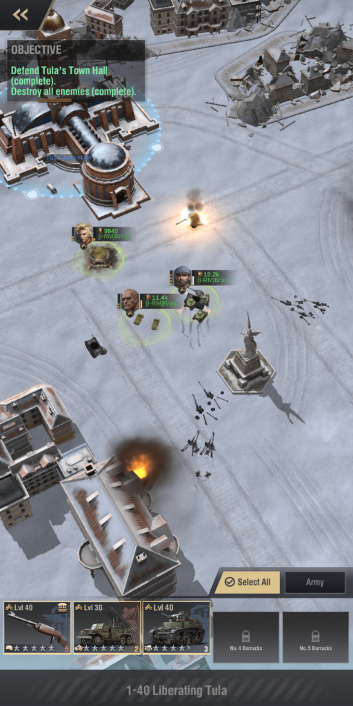 Bunker Positioning Campaign 1-40