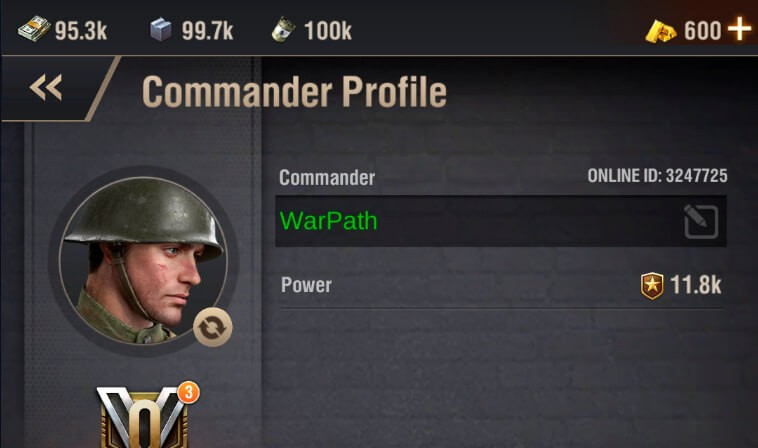 change name color warpath screenshot 5